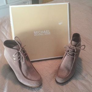 Michael Kors Wedge Boots